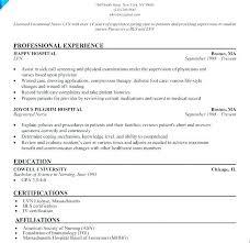 Registered Nurse Student Resume – Andaleco