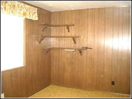 lovely painting over paneling painting over stained wood paneling painting over wood paneling to make it look like drywall