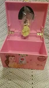 disney beauty and the beast belle al jewelry box