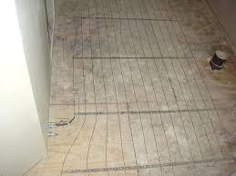 installing heated tile floor s installing heated bathroom floor cost