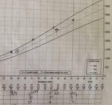 Growth Scan Chart Slight Drop On Growth Chart Babycenter