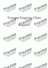 Trumpet Fingering Chart Handout The Best Fingering Chart For Trumpet Ever Created Alternate Fingerings Overtones And More For Solo Instrument