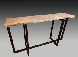 Spalted Maple & Wenge Hall Table
