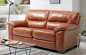 leather sofa bed. Dalmore Large 2 Seater Sofabed Brazil With Leather Look Fabric Sofa Bed C
