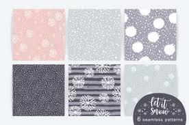 Seamless <b>Winter Pattern</b> Free Vector Art - (1,175 Free Downloads)
