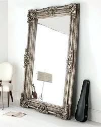 ornate wall mirror gold french style x large silver leaner decorative mirrors for