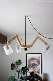 Diy modern ceiling light Dr Livinghome Decor