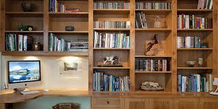 bespoke home office. shipton burr oak home office bespoke