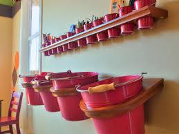 kids room wall storage