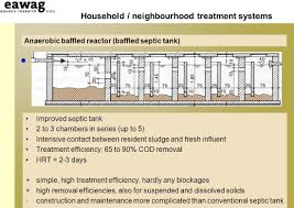 Septic Tank Design 3 Chambers Household And Neibourghood Sanitation Infrastructures