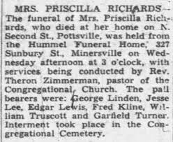 Priscilla Price Funeral - Newspapers.com
