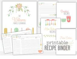 Recipe Binder Templates 006 Free Printable Recipe Book Cover Template Magnificent