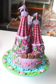 Castle Cake Delicious Architecture