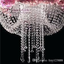 french six light all crystal beaded chandelier with smoke color drops beads pieces