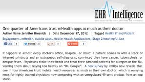 Doctor Applications Mhealth Insight Insights Into Mhealth The Convergence Of