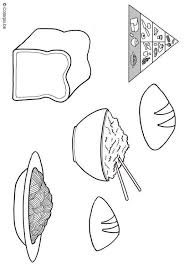 Small Picture Grain Food Group Coloring Pages Coloring Pages