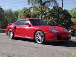 2001 Guards Red Porsche 911 Turbo Coupe #924540 | GTCarLot.com ...