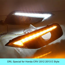 Drl Light Honda Crv Car Drl Kit For Honda Crv 2012 2013 Led Daytime Running
