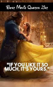 Beauty The Beast Quotes Best Of Beauty And The Beast Movie Quotes Our List Of Favorite Lines
