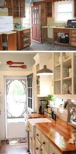 old kitchen furniture. before and after 25 budget friendly kitchen makeover ideas old furniture i