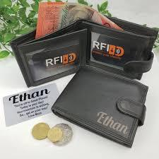 graduation gift graduation personalised leather wallet rfid free