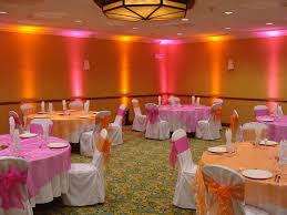 hot pink and orange wedding shower decorations | ... that she adorned with  bedazzling