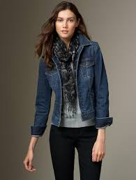 Light Blue Fitted Denim Jacket I Love How My Jean Jacket Goes With Everything I Also Love