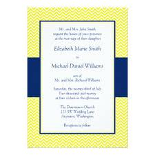 navy and yellow wedding invitations & announcements zazzle Wedding Invitations Navy And Yellow navy blue and yellow chevron wedding invitations navy blue and yellow wedding invitations