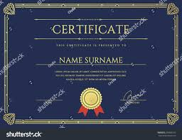 vector certificate diploma gatsby template ready stock vector  vector certificate or diploma gatsby template ready for print or use it on the internet