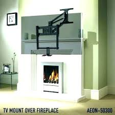 over fireplace ideas mounted above mounting how to hide cords on wall outdoor diy attractive l