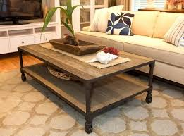 choosing rustic living room. Rustic Living Room Coffee Table Design With Roller Choosing