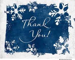snowflake thank you cards winter snowflakes thank you card custom design colors