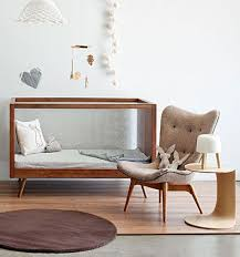 modern baby nursery furniture. Mid Century Modern Nursery Furniture Source. Cribs With Plexiglas Sides And  Statement Chairs For A Baby Room. R
