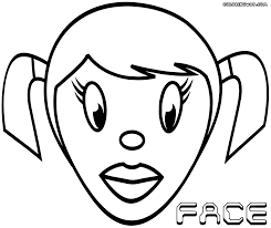 Face coloring pages | Coloring pages to download and print