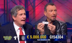 Lotteria Italia, ecco i 5 biglietti vincenti. Roba mai vista ...