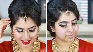 wedding guest makeup tutorial deshi indian wedding reception party makeup