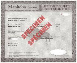 Identity Certificates | Manitoba Vital Statistics Agency | Province ...