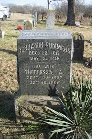 Benjamin Franklin Summers (1817-1878) - Find A Grave Memorial