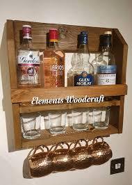 bar drink rack gin shelf wine rack man