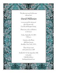 Free Dinner Invitation Templates Printable Magnificent Retirement Party Invitations Templates Print Your Own Retirement