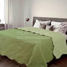 <b>Покрывало</b> (<b>160х200</b> см) микрофибра, <b>Amore Mio</b> зеленое 1212 в ...