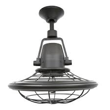 hampton bay bentley ii 13 in outdoor natural iron oscillating ceiling fan 328478