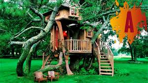 Cool Treehouses For Kids 10 Most Amazing Treehouses In The World Youtube
