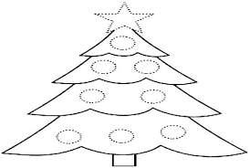 Coloring Pages Christmas Tree Coloring Pages To Print Free