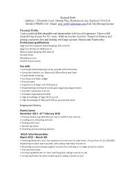 Resume Job History Order Best Of R Webb Resume Cv24