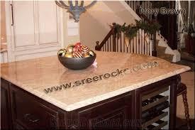 ivory brown granite kitchen countertops