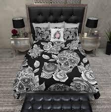 Skull Bedroom Curtains Special Offers For Fans My Sugar Skulls