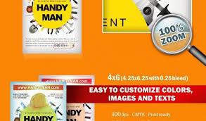 free handyman flyer template handyman brochure template free printable flyer templates