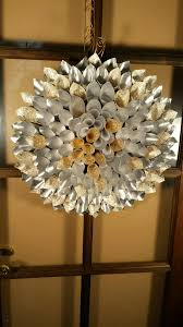 paper chandelier gorgeous paper wreath made with handmade paper from recicle cotton by origami