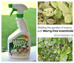garden insecticide. Worry Free Insecticide Garden C
